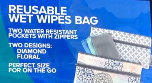 New Norwex, New NorwexProdcuts 2018, Wet Wipes bag