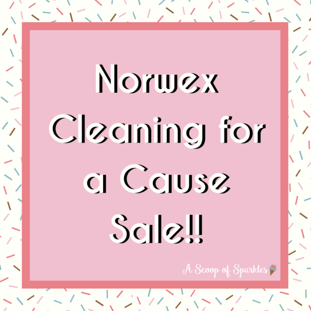 Norwex Cleaning For a Cause Sale!