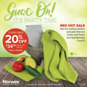 Norwex Flash Sale, Norwex Sale, Green Cleaning, Nontoxic Cleaning