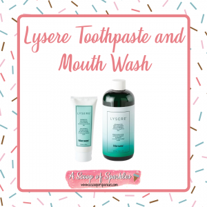 Lysere Toothpaste and Mouth Wash