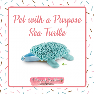 Pet With a Purpose - Sea Turtle made from Norwex Remnants