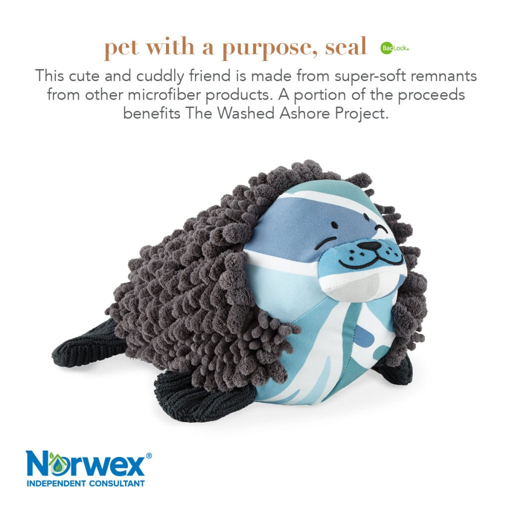 Norwex Pet with a Purpose Seal